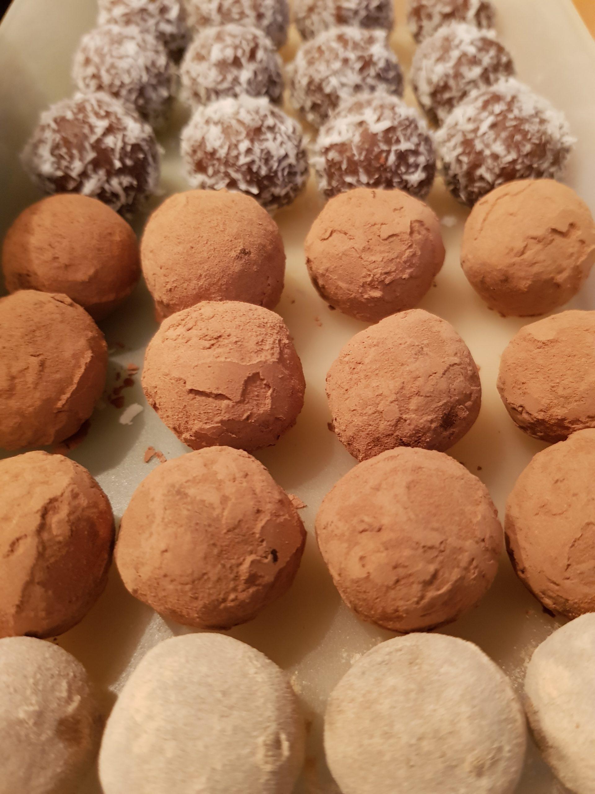 Schoko-Orangen Kugeln1